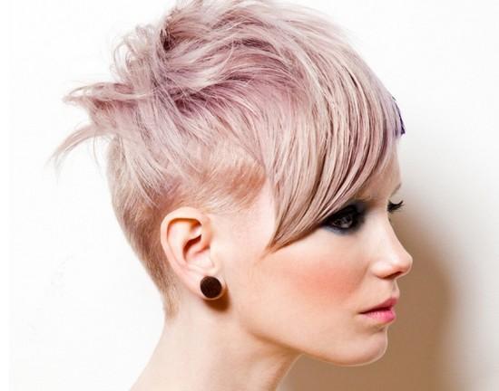 Стильные ассиметричные стрижки на короткие волосы