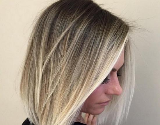 мелирование для тонких волос