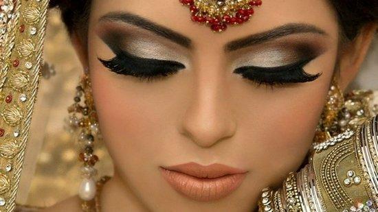 макияж для восточных танцев