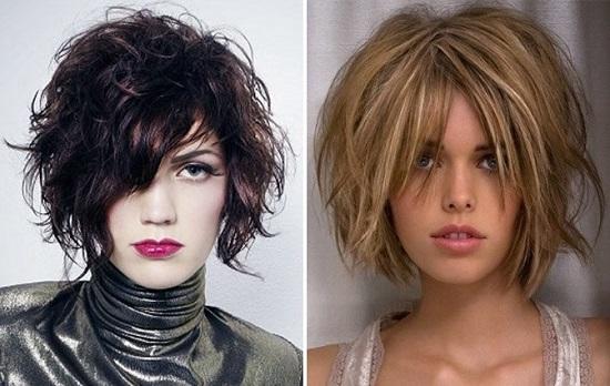стрижка помогает придать волосам визуальный объем