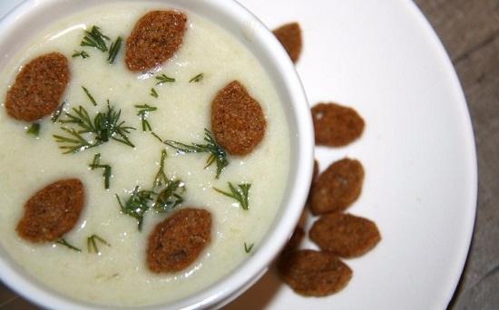 Сырный крем-суп в мультиварке