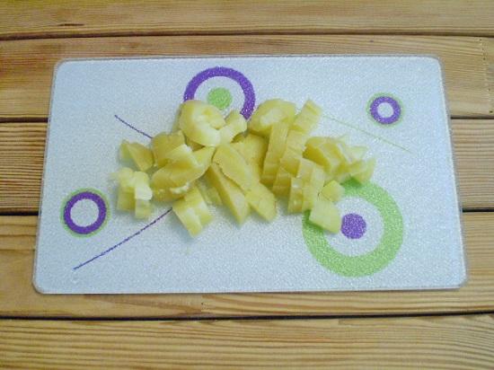 Картофельные корнеплоды сварим