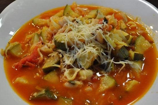калорийность порции супа «Минестроне»