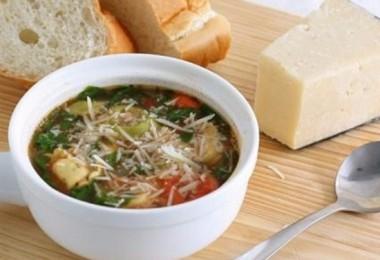 Суп с пельменями: рецепты с фото