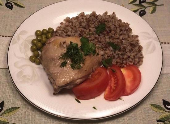 Курица под соусом «Терияки» в духовке
