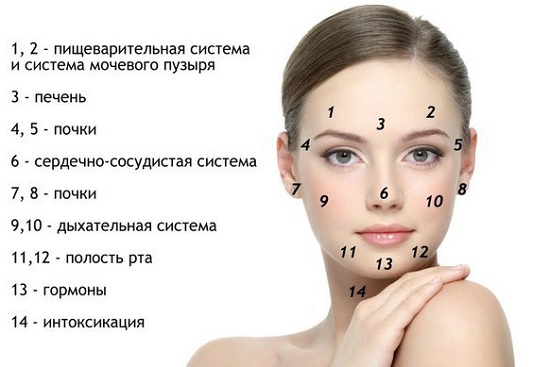 Диета для кожи лица от прыщей