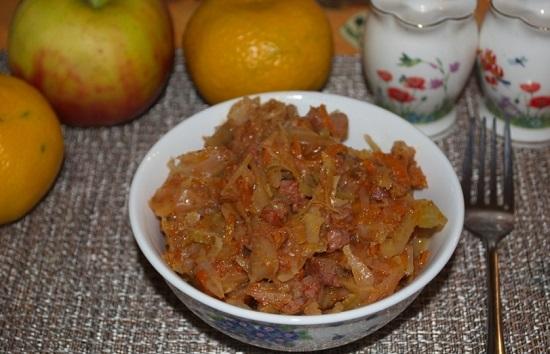 мясная солянка по-грузински