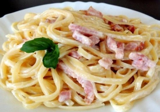 Как приготовить карбонару со сливками и беконом: рецепты с фото
