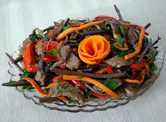 как готовить вкуснейшие блюда из папоротника