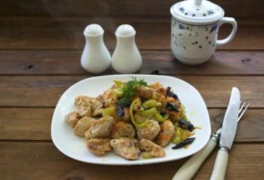 Мясо, тушенное с черносливом: рецепты с фото