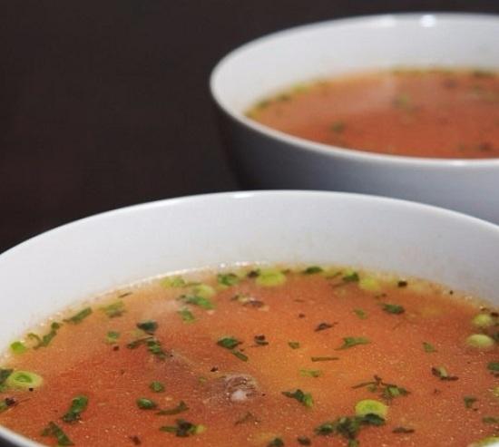 Томатный суп с рисом: рецепт с говядиной