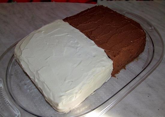 Начинаем «собирать» торт