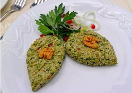 Зеленая фасоль по-грузински