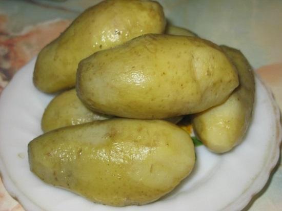 Картофель остудим
