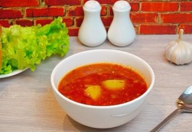 Суп из кильки в томатном соусе: рецепты