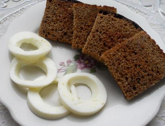 Остужаем хлеб
