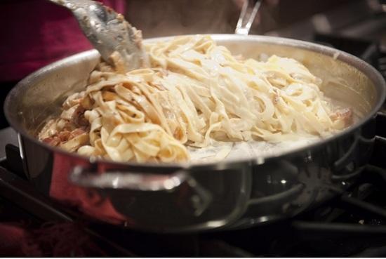 Паста карбонара: пошаговый рецепт с фото