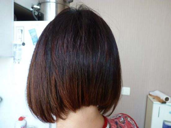 брондирование для тонких волос