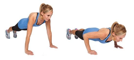 Упражнения без отягощения для рук