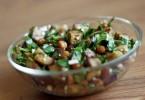 Салат с нутом: рецепты с баклажанами, фасолью, помидорами