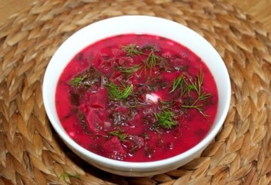 Суп из ботвы свеклы молодой очень вкусный (со щавелем)