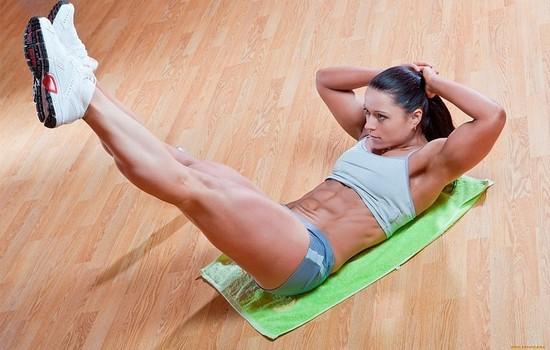 Упражнения для нижней части живота для женщин и мужчин