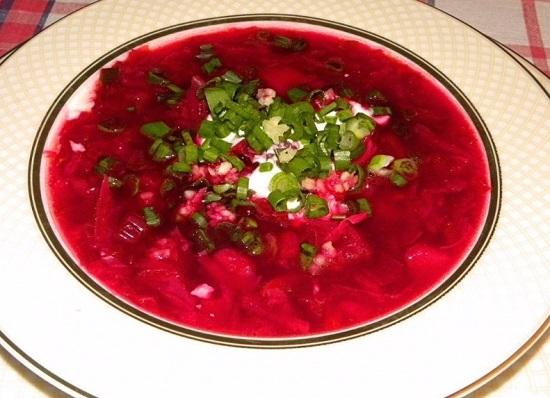 Суп из ботвы свеклы