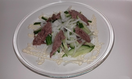 Упрощенный рецепт узбекской закуски