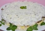 Салат «Невеста» с копченой курицей: пошаговые рецепты