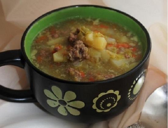 сварим суп в мультиварке