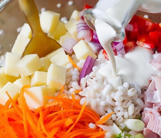 Заправляем салатик