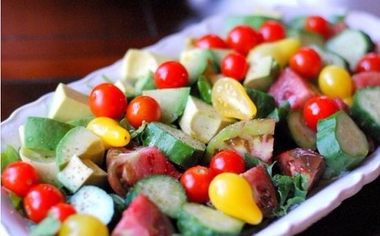 Овощная закуска с авокадо