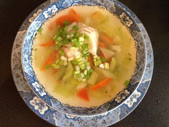 Рыбный суп из трески: рецепт