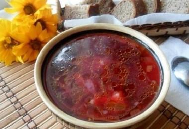 Суп из свекольной ботвы: рецепты приготовления