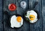 Калорийность жаренных на подсолнечном масле яиц