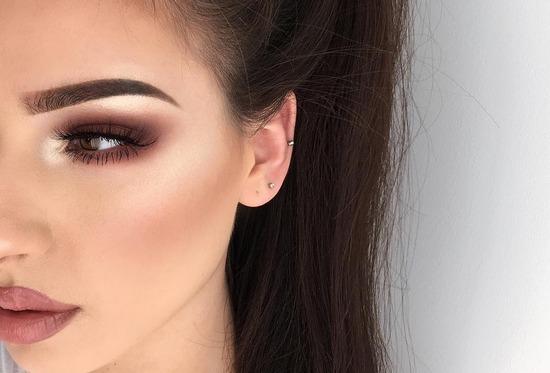 макияжа для карих глаз
