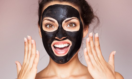Черная маска для лица от черных точек в домашних условиях