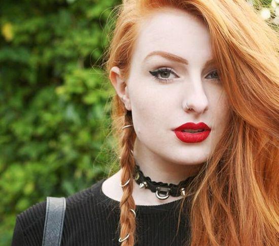 Какой макияж подходит для рыжих волос и зеленых глаз?