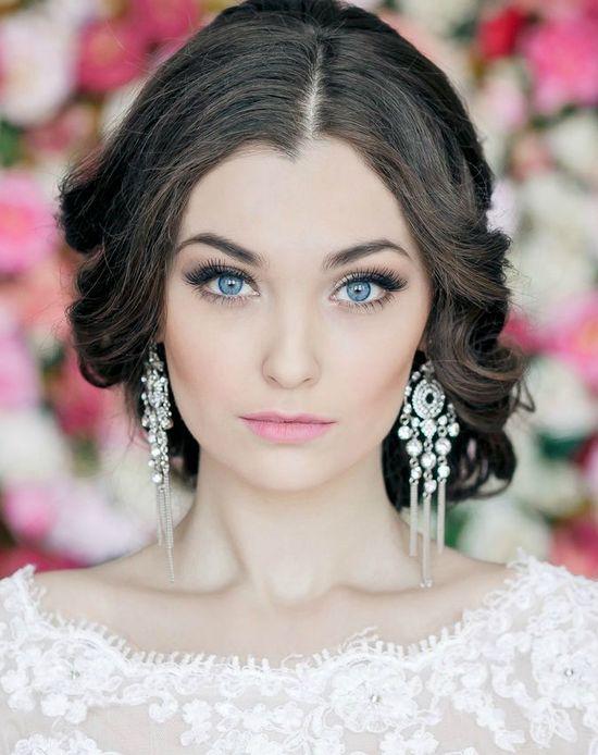 макияж на выпускной девушкам с голубыми глазами