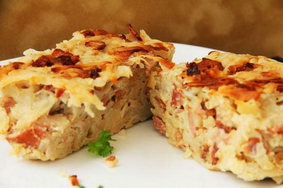 Картофельная «Бабка» по-белорусски