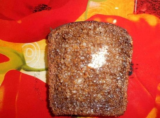 хлебный ломтик с маслом