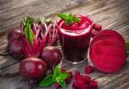 Свекольный сок: польза и вред для печени