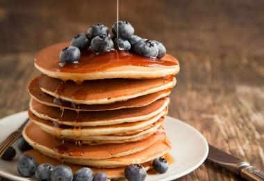 Американские панкейки: рецепт на кефире, молоке