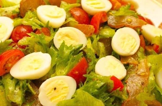 рецепт легкого и очень вкусного салата с добавлением карпаччо