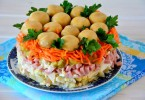 Салат «Лесная поляна»: рецепт