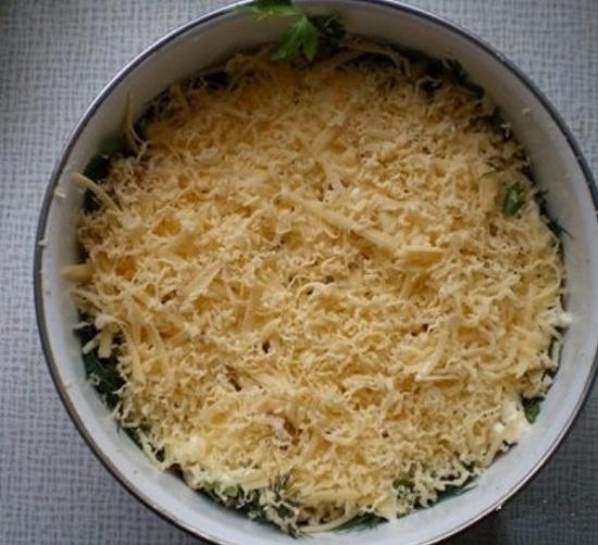 Сыр измельчим на терке