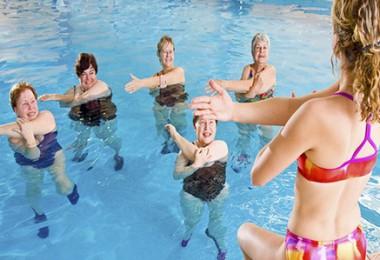 Аквааэробика для похудения