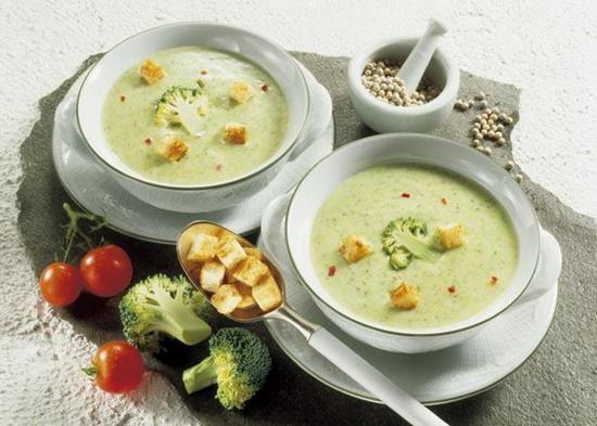 Суп пюре из брокколи и тыквы