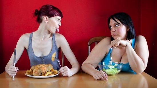 Как потолстеть девушке?