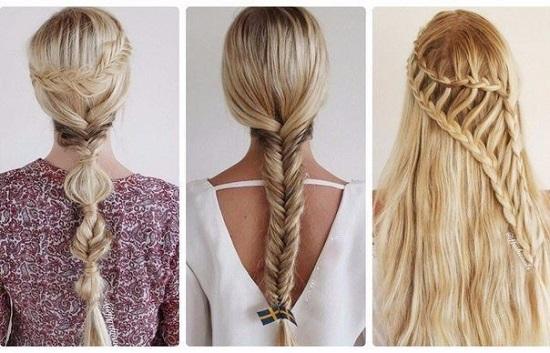 Как заплести волосы красиво: фото